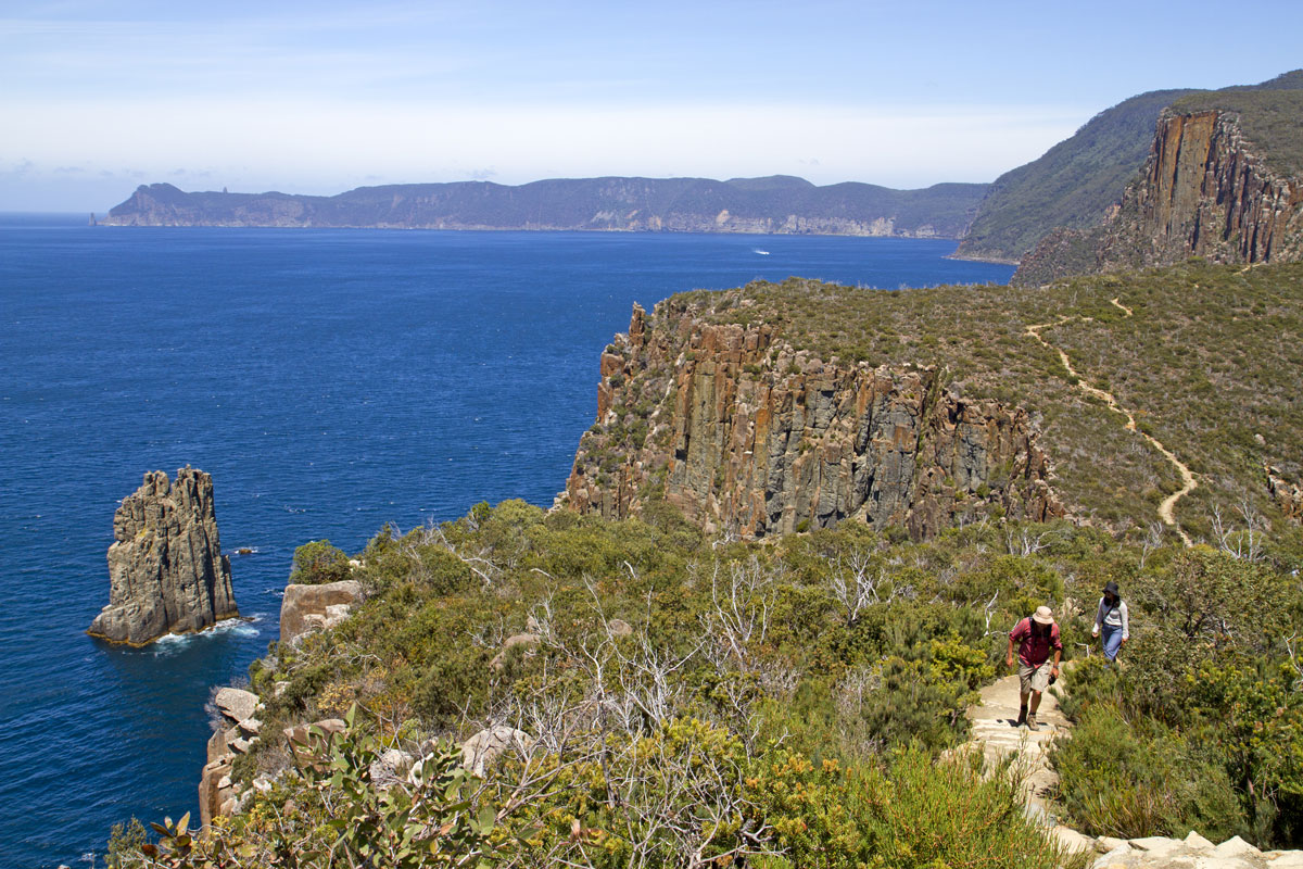 Climb the peaks to see the views of the Capes on the Three Capes Lodge Walk with the Tasmanian Walking Company.