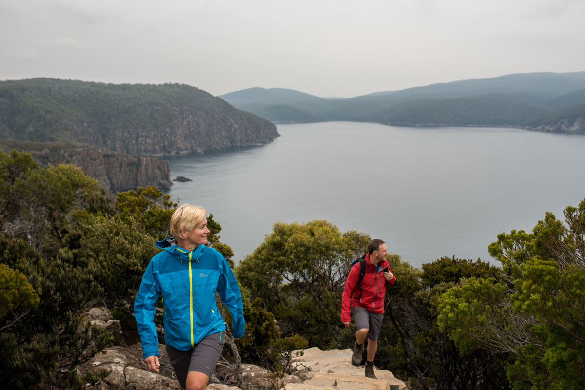 Experience spectacular Tasmanian views on the Three Capes Lodge Walk with the Tasmanian Walking Company.